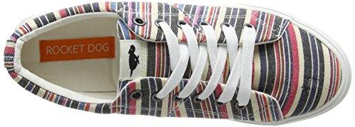 Roads Zapatillas para Rocket Dog Multi Natural Multicolor E07 Mujer Campo ExPPYWqvw4