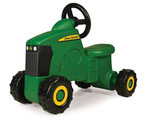 TOMY John Deere Sit-N-Scoot Tractor Toy, Green, One Size (Best Ride On Toys For 1 Year Old)