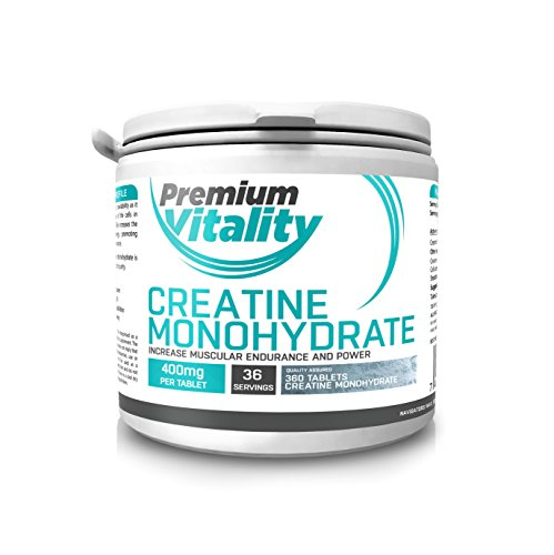 Creatine Monohydrate Tablets  360 x Creatine Tablets  Proven to Increase...