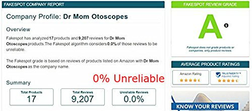 third generation dr mom slimline stainless led pocket otoscope now includes true view full