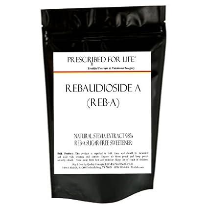 Extracto de stevia – 98% Reb a – rebaudioside a natural ...