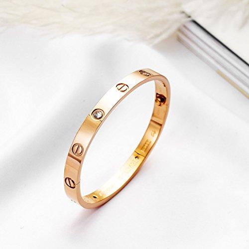 BESTJEW Womens Love Bracelet Stainless Steel Cuff Bangle Bracelet with Screwdriver by BESTJEW (Image #2)