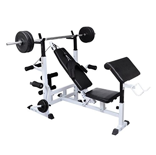 SKB Family Multi Use Weight Bench New Home Gym Workout Exercise Training Fitness Equipment