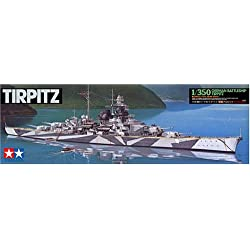 Tamiya German Battleship Tirpitz