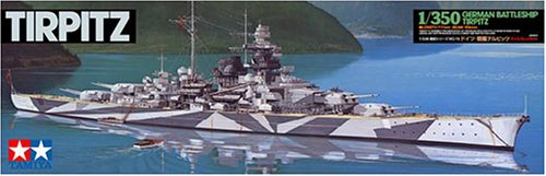 (Tamiya German Battleship Tirpitz)