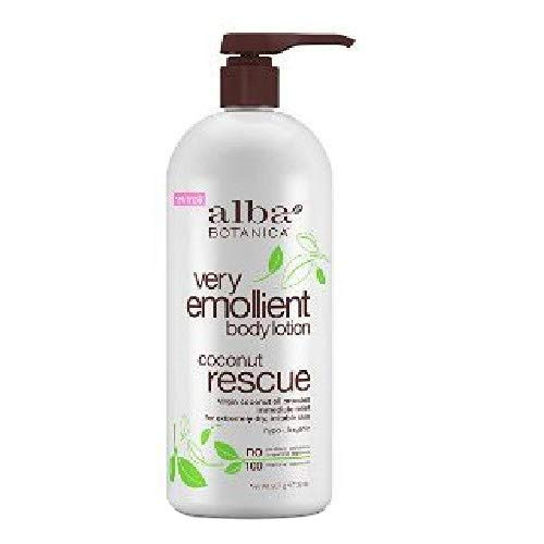 - Alba Botanica Very Emollient Body Lotion Coconut Rescue 32oz 2 Pack