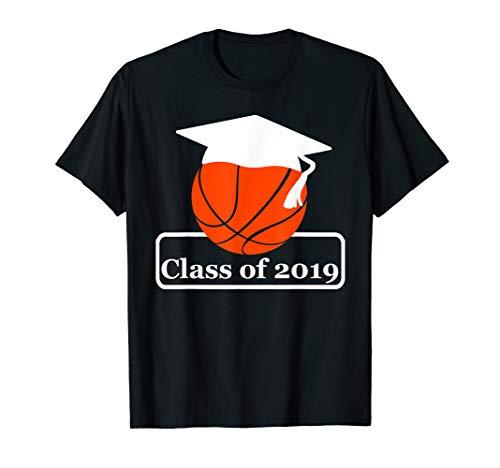 Class Of 2019 Basketball Senior Night Gifts Ideas T-Shirt