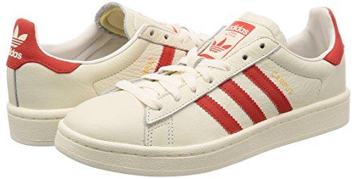 Pour Chaussures Blanc Basket Les Gras Hommes ball Adidas Blanc Orange Crme chalkwhite De Campus HX5cWHCq