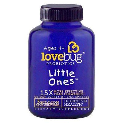 LoveBug Probiotics Little Ones Digestive Health Dietary Supplement Spheres - 60ct by lovebug probiotics