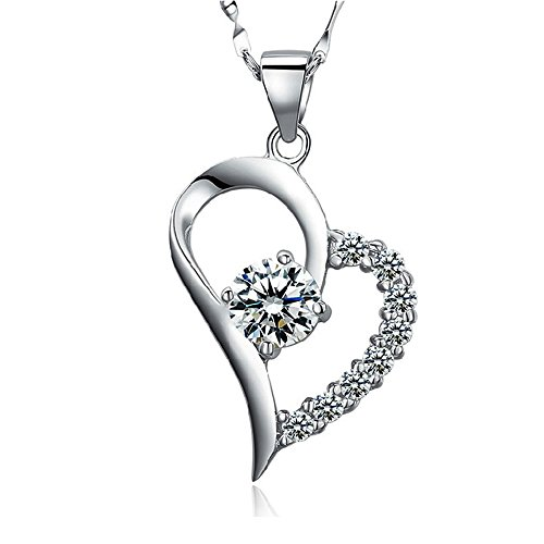 Acxico Crystal Diamond Sterling Pendant product image