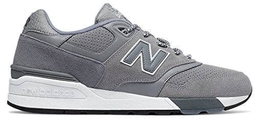 New Balance Mens 597 Lifestyle Fashion Sneaker Grigio