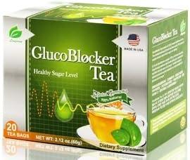 GlucoBlocker Gymnema Green Tea For Diabetes