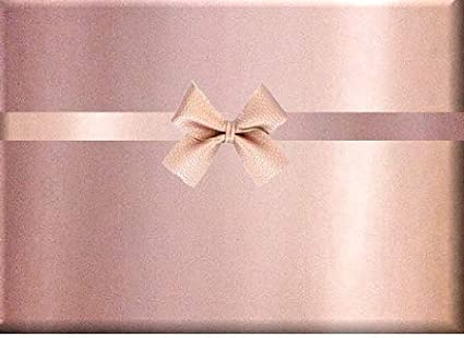 Tag and Ribbon New Baby Girl Luxury Gift wrap Baby Feet Pink Wrapping Paper