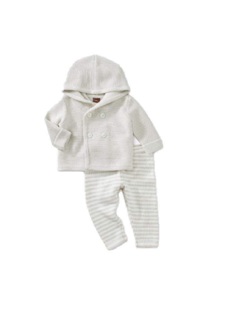 Tea Collection Sweater Outfit, 6-9 Months, Lunar Rock by Tea Collection