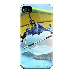 New Style Mwaerke Hard Case Cover For Iphone 4/4s- Rio Movie 3