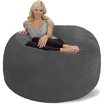 Chill Sack Bean Bag Chair Giant 6 Memory Foam Furniture