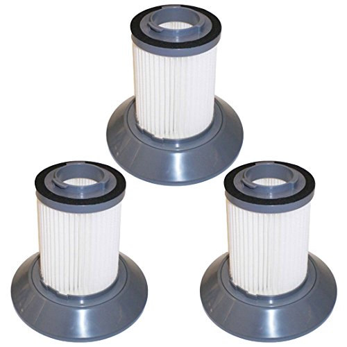 3 Pack Replacement Filters for Bissell Dirt Bin Zing Bagless Canister Vacuum Part # 203-1532 by Felji