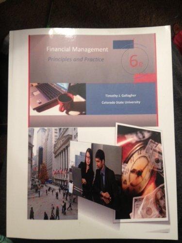 Read Online Financial Management: Principles and Practice pdf epub