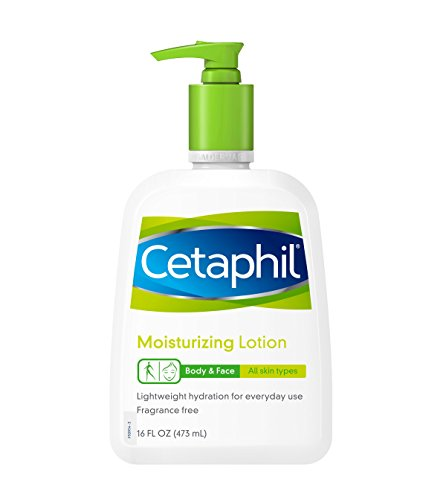 Cetaphil Moisturizing Lotion Types Count