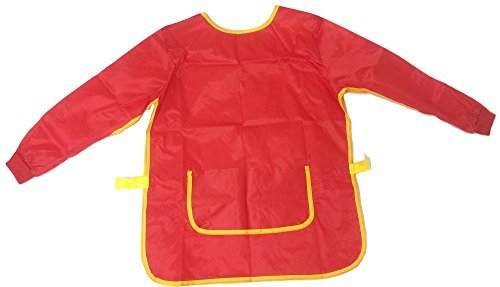 Long Sleeve Childrens Art And Craft Painting Apron 70cm 6-7 Years by Major Brushes