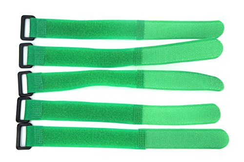 [Colored Velcro Strap with Plastic Buckle (3/4