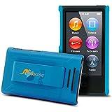 rooCase S1-TM Ultra Slim Translucent Matte Shell Case for Apple iPod Nano 7 (7th Generation), Blue