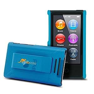rooCASE Ultra Slim Translucent Matte (Blue) Shell Case for Apple iPod Nano 7 (7th Generation)