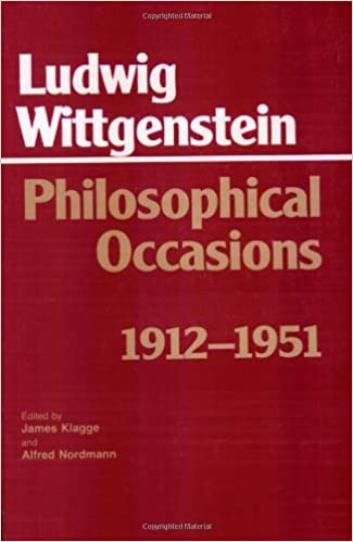 Amazon Fr Philosophical Occasions 1912 1951 Ludwig