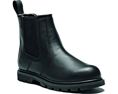 Dickies fd9214 a-bk-12 Fife II Dealer Boot, taglia 12, nero