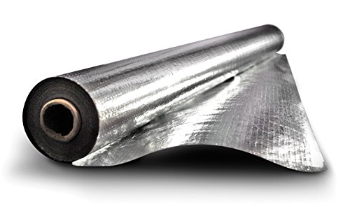 1000 sqft Radiant Barrier 8mil Rodent Proof Mylar Scrim Insulation 4x250 Heavy Duty Commercial Grade Strongest Scrim Barrier by NORTHSHORE HOME&GARDEN