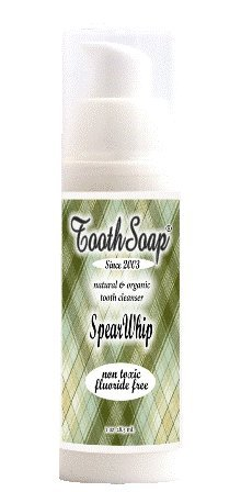 Tooth Soap SPEARMINT WHIP in the new Airless, No Waste Pump!