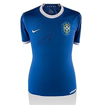 Iconos Tienda Unisex icrbrs8 Ronaldinho Frontal Firmado Brasil ...