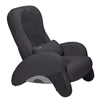 ht100 human touch robotic massage chair recliner black