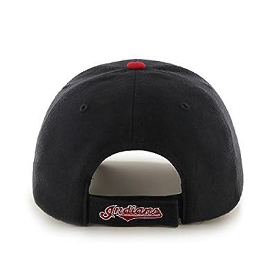 MLB Cleveland Indians Juke MVP Adjustable Hat, One Size, Navy
