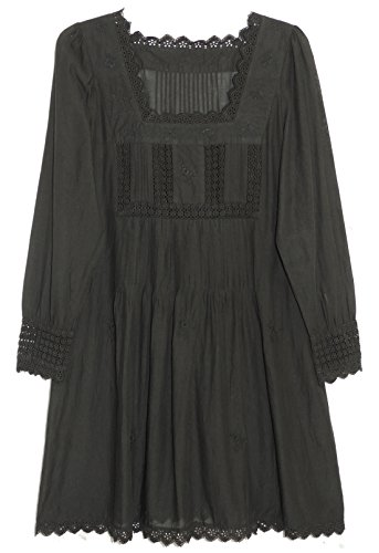 La Cera Women's Laced Top Plus Size