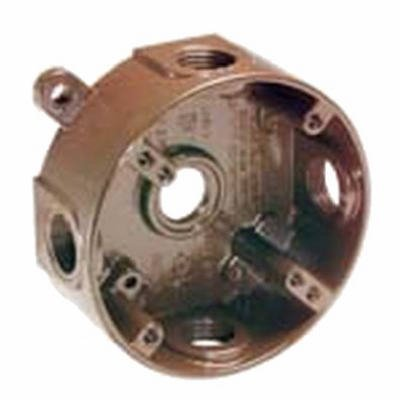 Raco #5361-7 Bronze WP Round Outlet Box