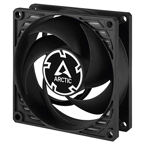 Ventilador ARCTIC P8-80 mm PC Case Fan, Pressure-Optimised,