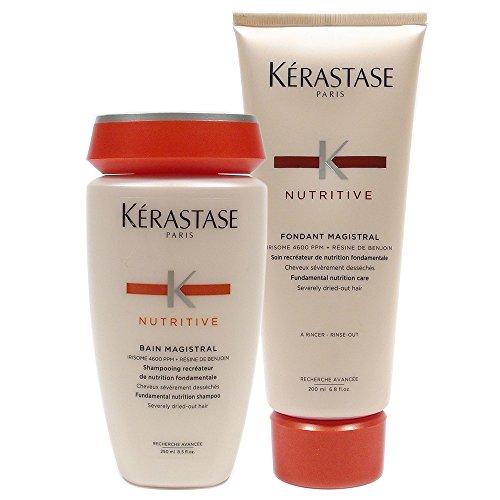 - Kerastase Bain Magistral Shampoo, 8.5 oz and Kerastase Nutritive Fondant Magistral Conditioner 6.80 oz