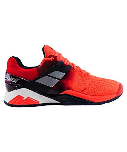 Babolat Herren Propulse Fury Clay Tennisschuhe, Dunkelgrau Rot (Red)