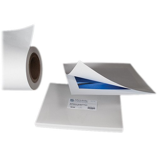 Archival Methods 98001 White Archival Paper 8 x 10 100 Sheets by Archival Methods