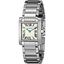 Cartier Women's W51008Q3 Tank Francaise Stainless Steel Bracelet Watch