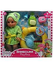 Bambolina Play Time 30 cm Baby Doll Swimming Set BD1407