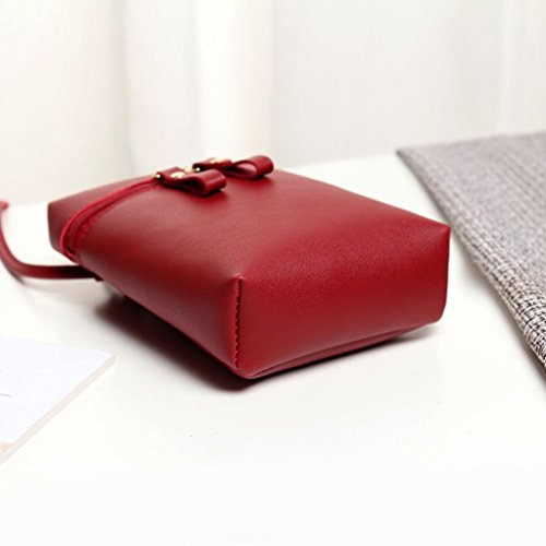 Small Shoulder Coin Handbags Wine Messenger Womens Square Girls Cross Mini Purses Inkach Bags Mini Bag Chic Body by 0Zf7qzT