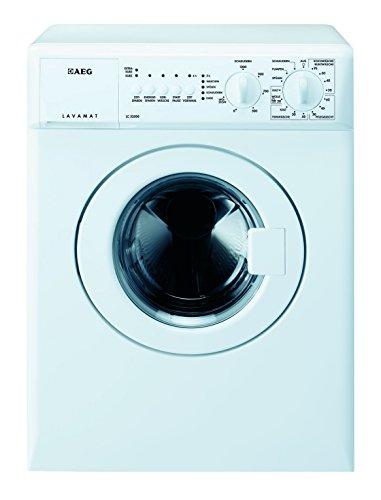 AEG LC53500 Waschmaschine Frontlader / EEK A / 1300 UpM / 3 kg / Weiß / Startzeitvorwahl / Unwuchtkontrolle