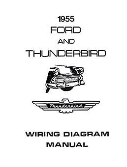 complete 1955 ford car \u0026 thunderbird wiring diagrams 1955 ford radio wiring wiring diagrams