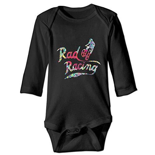 (Thoreau Holmes Retro Style 80's Biking Unisex-Baby Cotton Long Sleeve Lap Neck Rompers Outfits One-Piece Bodysuits 18M)