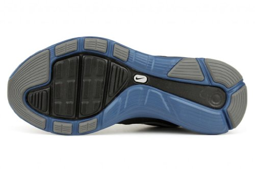 Lunarglide 4 Sports Training Shoes Black/Reflect Silver-Dark Royal Blue e83eIJ
