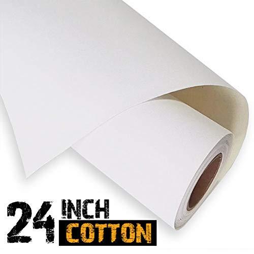 61cm inkjet 100% tela di cotone rotolo 18m–340GSM 7061116105532