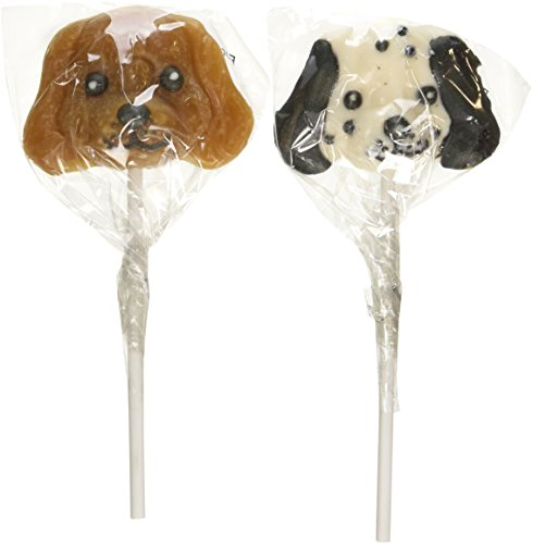 Dog Head Lollipop Suckers (1 dz)