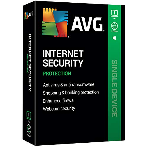 AVG Technologies AVG Internet Security 2020, 1 PC 2 Year 2020 (Avast Internet)